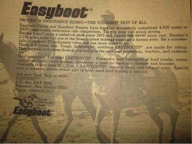 1979 Easyboot Advertisement
