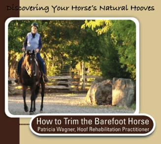 DVD cover - Discovering your horses Natural Hooves with Pat Wagner