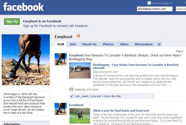 Easyboot Facebook