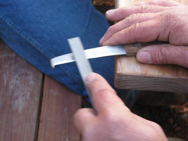 Hoof Knife sharpeing