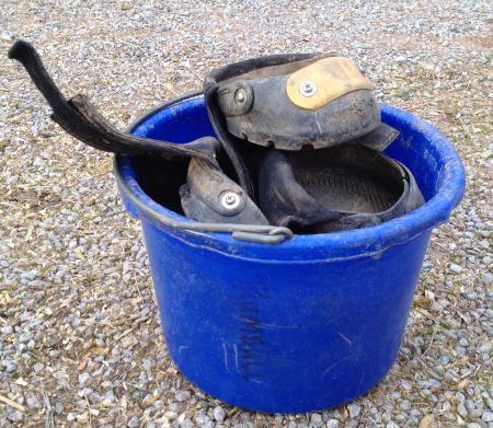 Roo's boot bucket