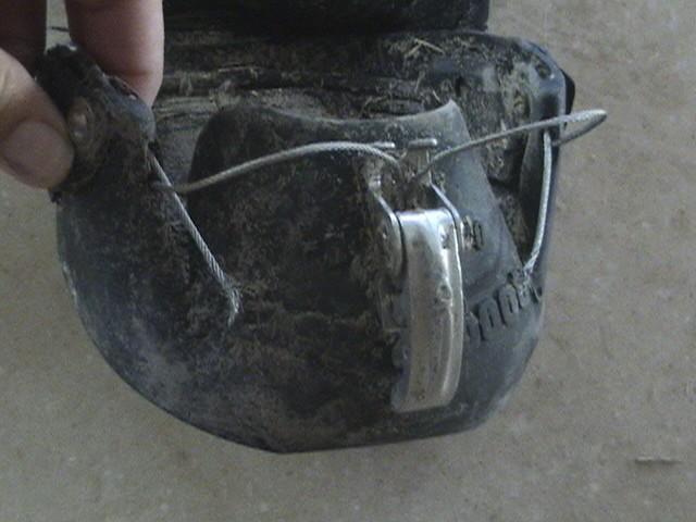Broken cable