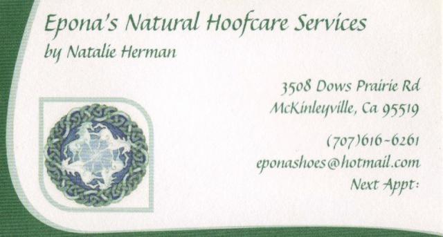 Natalie's Calling Card