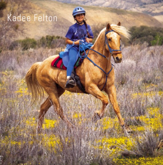 Kadee Felton on the way to a 6th Place Finish in the $10,000 Hoof Boot Contest