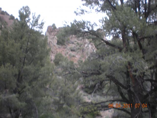 Rock formations of Illinois Canyon