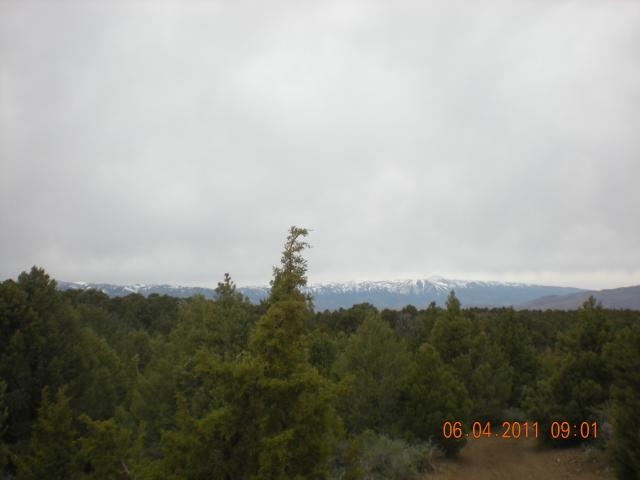 The last decent view of the mountains.  They would remain shrouded in clouds the rest of the day.