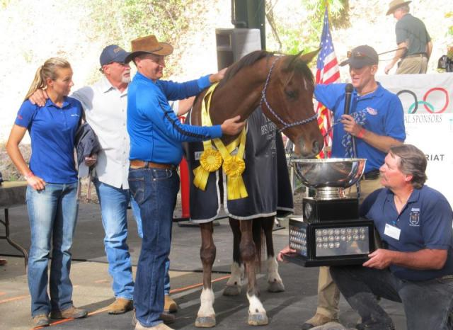 Reynolds racing wins 2011 Tevis Cup in Easyboots