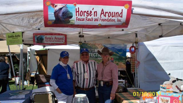 Horse 'n Around Ranch Booth