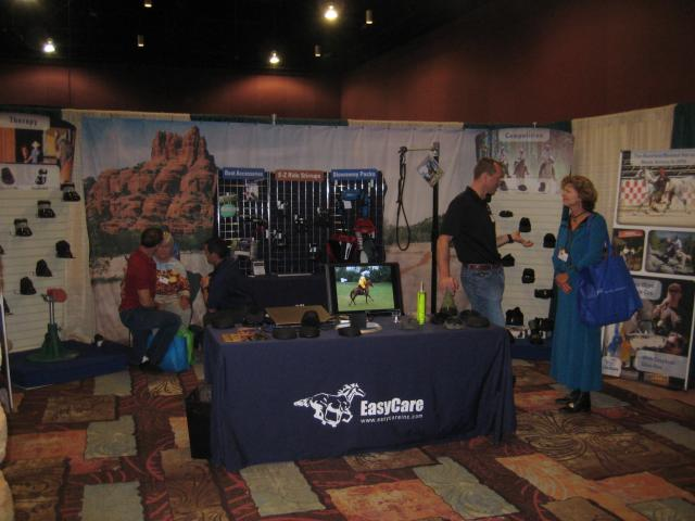 EasyCare Booth at AERC Convention