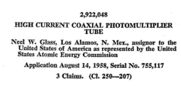 Neel Glass Patent
